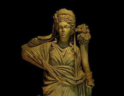 Göttin Fortuna mit einem Füllhorn voll - Geschichten?