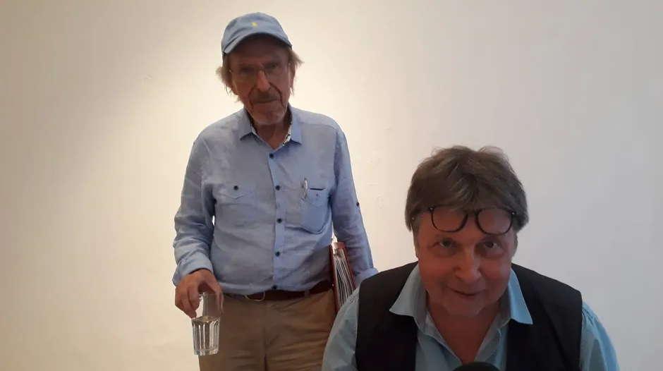 Wolfram Hirche und Hans-Karl Fischer
