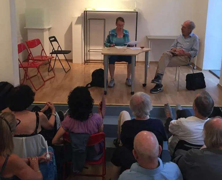 Petra Ina Lang und Wolfram Hirche