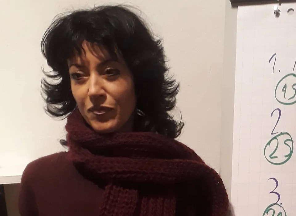 Siegerin des Abends: Rania Rupel-Tera