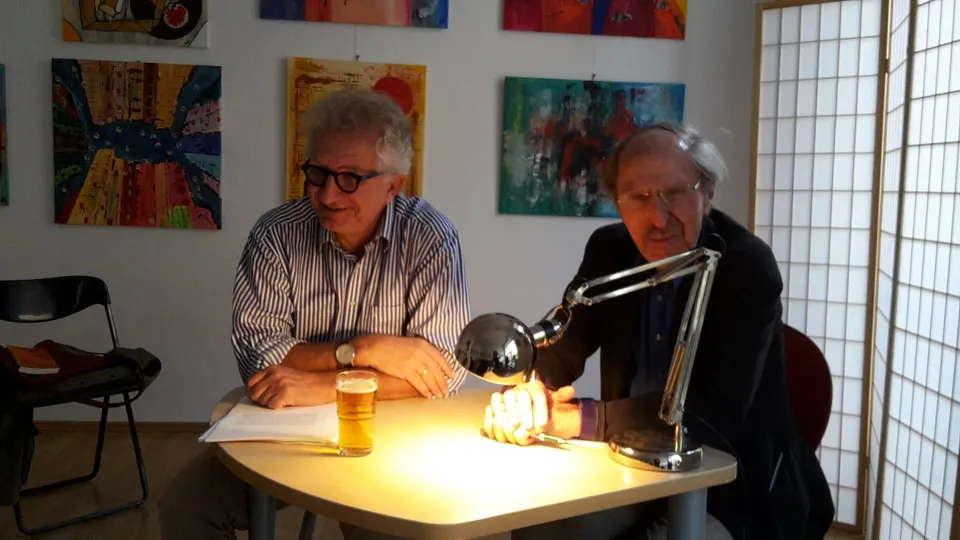 Ulrich Schäfer-Newiger und Wolfram Hirche