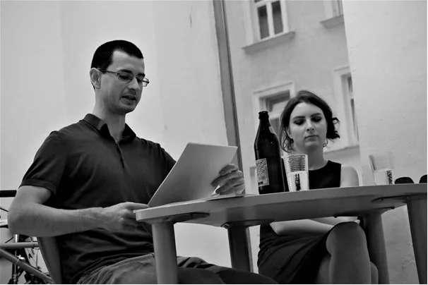 Fabian Widerna und Slata Roschal (Foto: Ulrich Schäfer-Newiger)