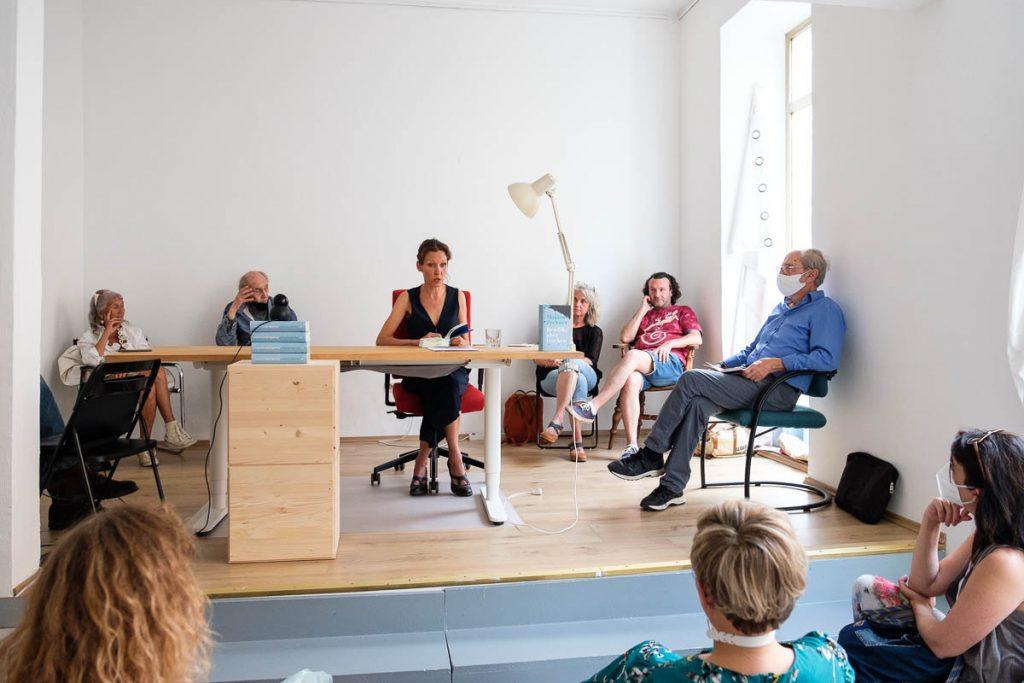 Lesung Marion Zechner im MLb