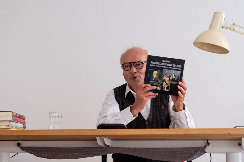Lesung Klaus Hübner